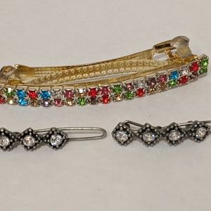 Other - Hair Clips With Little Change Purse